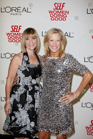 Laura McEwen (VP and Publisher of SELF Magazine) and Lucy Danziger