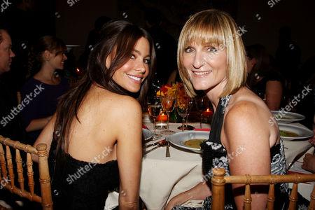 Sofia Vergara and Laura McEwen (VP and Publisher of SELF Magazine)