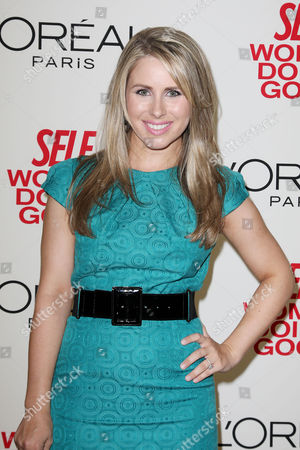 Editorial picture of SELF Magazine's 3rd Annual Women Doing Good Awards, New York, America - 21 Sep 2010