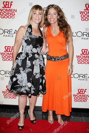 Laura McEwen (VP and Publisher of SELF Magazine) and Dylan Lauren