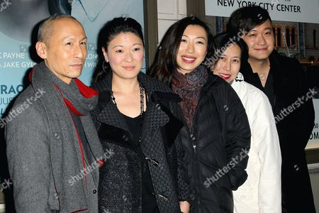 Francis Jue with guests