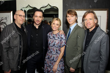 Stock Photo of Oren Moverman (Screenwriter), John Cusack, Elizabeth Banks, Paul Dano, Bill Pohlad (Director)