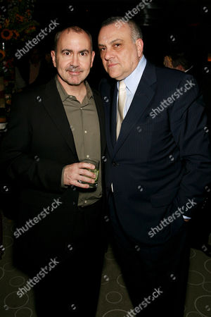 Stock Image of Terrence Winter (Writer) and Vincent Curatola