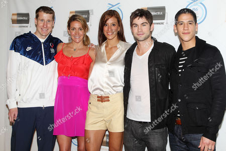 Stock Picture of Hunter Kemper, Summer Sanders, Diana Lopez, Chace Crawford, Mark Lopez