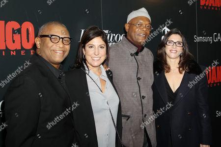 Reggie Hudlin, Pilar Savone, Samuel L Jackson and Stacey Sher