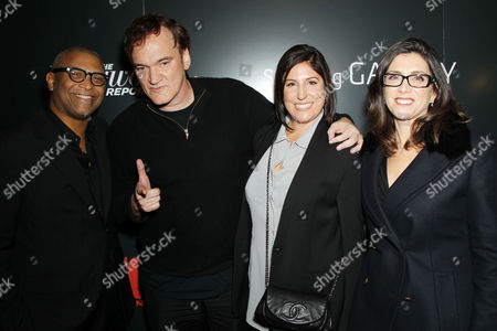 Editorial picture of 'Django Unchained' film screening, New York, America - 11 Dec 2012
