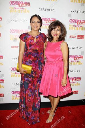 Michelle Herrera Mulligan (EIC, Cosmopolitan for Latinas), Donna Kalajian Lagani (Publisher, Cosmopolitan for Latinas)