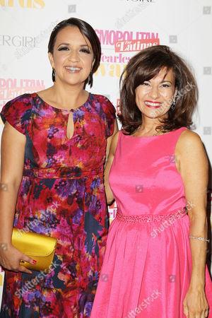 Stock Image of Michelle Herrera Mulligan (EIC, Cosmopolitan for Latinas), Donna Kalajian Lagani (Publisher, Cosmopolitan for Latinas)
