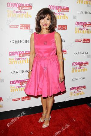 Editorial image of Cosmopolitan Fearless Latinas Awards, New York, America - 04 Jun 2014