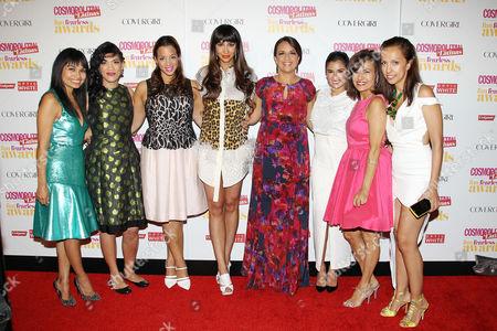 Editorial photo of Cosmopolitan Fearless Latinas Awards, New York, America - 04 Jun 2014