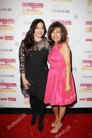 Courtney Macavinta and Donna Kalajian Lagani (Publisher, Cosmopolitan for Latinas)