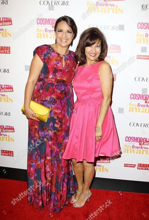 Michelle Herrera Mulligan and Thalia and Donna Kalajian Lagani