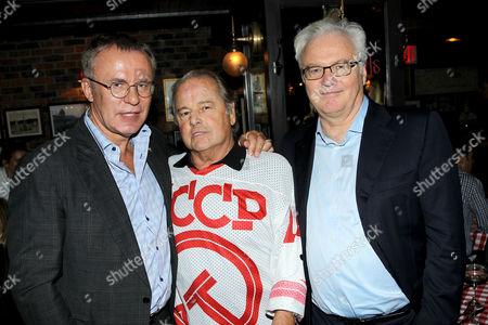 Slava Fetisov, Rod Gilbert, Russian Ambassador Vitaly Churkin
