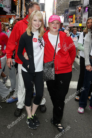 Emma Stone and mother Krista Stone