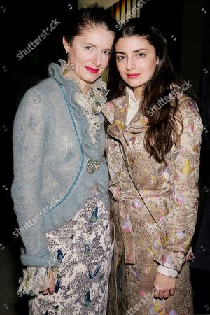 Luisa Beccaria with daughter Lucilla