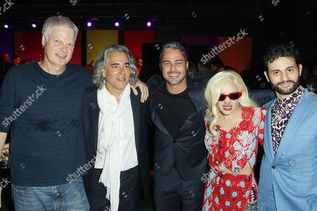 Stock Photo of Steve Bing (Producer), Mitch Glazer (Screenplay), Taylor Kinney, Lady Gaga, Arian Moayed