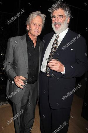 Michael Douglas and Elliot Gould