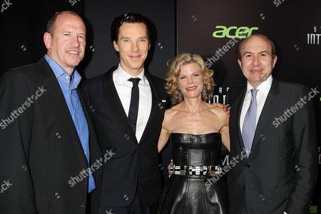 Stock Picture of Rob Moore, Benedict Cumberbatch, Debra Dauman and Philippe Dauman
