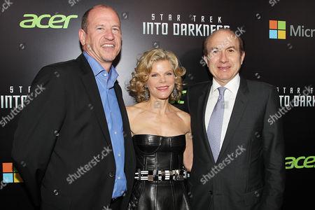 Rob Moore, Debra Dauman and Philippe Dauman