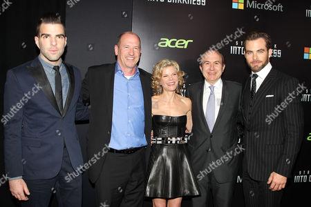 Editorial image of 'Star Trek: Into Darkness' film screening, New York, America - 09 May 2013