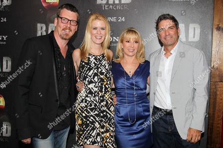 Simon van Kempen, Alex McCord, Ramona Singer and Mario Singer