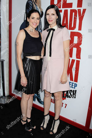 KK Glick and Jill Kargman