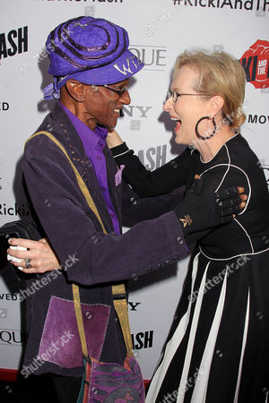 Stock Picture of Bernie Worrell and Meryl Streep
