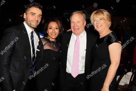 Stock Picture of Oscar Isaac, Nay Wasicsko, William F. Zorzi and Lisa Belkin