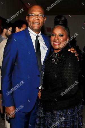 Samuel L. Jackson and La Tanya Richardson Jackson