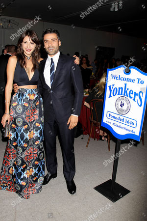 Carla Quevedo and Oscar Isaac