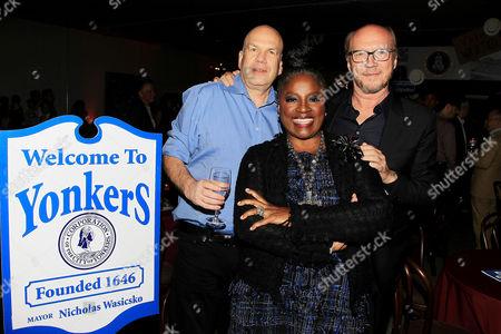 David Simon, La Tanya Richardson Jackson and Paul Haggis