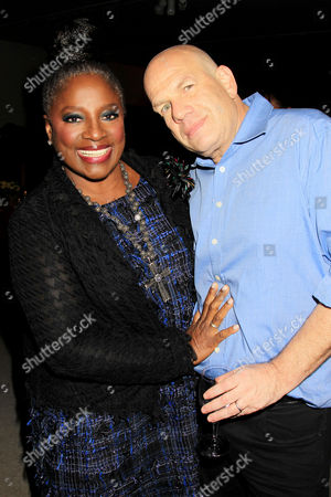 La Tanya Richardson Jackson and David Simon