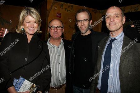 Martha Stewart, Robert Kenner (Director and Producer), Dan Barber and Eric Schlosser (Co-Producer)