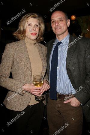 Christine Baranski and Eric Schlosser (Co-Producer)