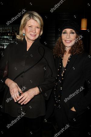 Martha Stewart and Marisa Berenson