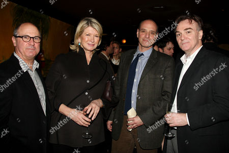 Robert Kenner (Director and Producer), Martha Stewart, Eric Schlosser (Co-Producer) and Eamonn Bowles (President of Magnolia Pictures)