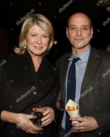 Martha Stewart and Eric Schlosser (Co-Producer)