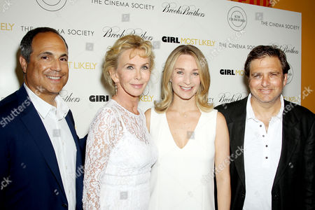 Editorial picture of 'Girl Most Likely' film screening at The Cinema Society, New York, America - 15 Jul 2013
