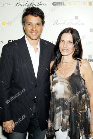 Stock Photo of Ralph Macchio and Phyllis Fierro