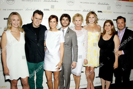 Celine Rattray (Producer), Matt Dillon, Kristen Wiig, Darren Criss, Trudie Styler (Producer), June Diane Raphael, Shari Springer Berman and Robert Pulcini