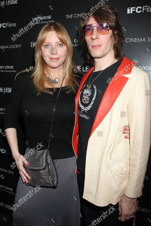 Stock Picture of Bebe Buell and Jim Wallerstein