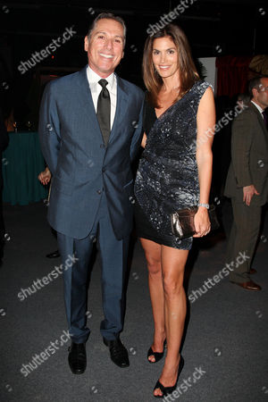 Stock Photo of Vicente Wolf and Cindy Crawford