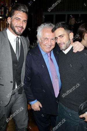 Lorenzo Martone, Tony Shafrazi, Marc Jacobs