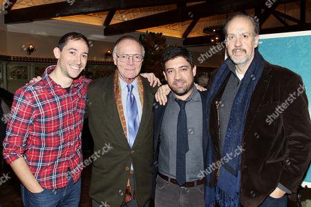 Stock Image of Jesse Andrews, Nick Pileggi, Alfonso Gomez-Rejon, Kent Jones