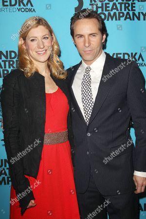 Jenni Barber and Alessandro Nivola