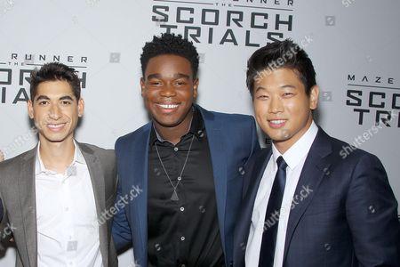 Alexander Flores, Derek Darden, Ki Hong Lee