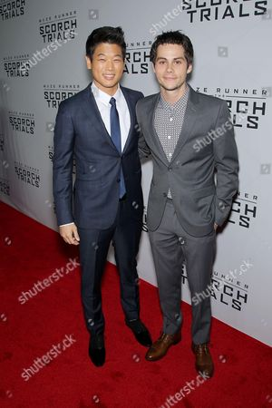 Editorial picture of 'Maze Runner: The Scorch Trials' film premiere, New York, America - 15 Sep 2015