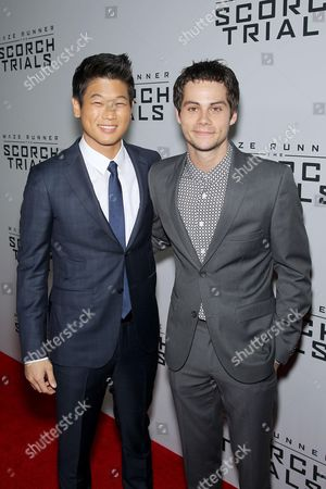 Editorial photo of 'Maze Runner: The Scorch Trials' film premiere, New York, America - 15 Sep 2015