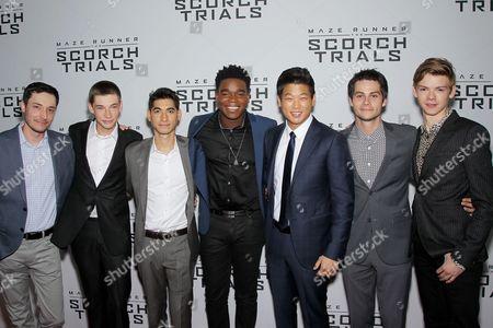 Wes Ball (Director), Jacob Lofland, Alexander Flores, Dexter Darden, Ki Hong Lee, Dylan O'Brien, Thomas Sangster