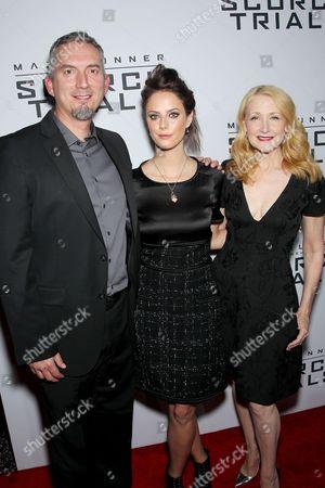 James Dashner (Author), Kaya Scodelario, Patricia Clarkson
